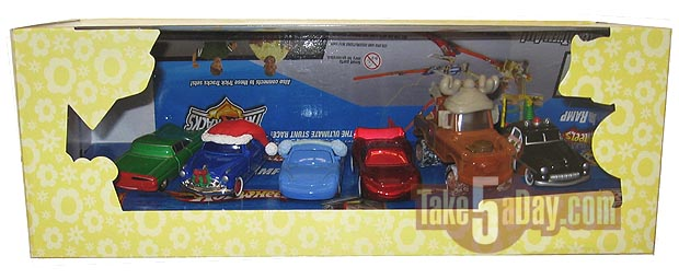 Mater Saves Christmas Christams-Box
