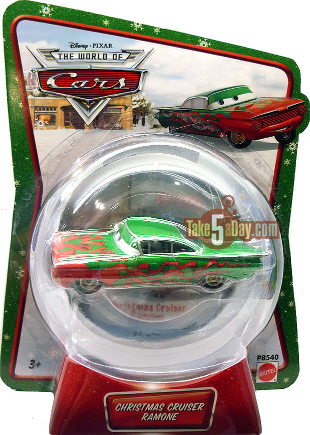 Mater Saves Christmas Christmas-Cruiser-Ramone-WM