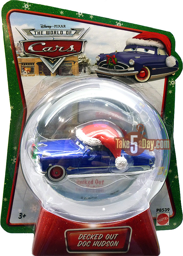 Mater Saves Christmas Decked-Out-Doc-Hudson-WM
