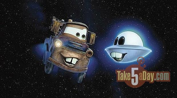 Un Mater Tall Tales de plus officialisé... Mater-UFO