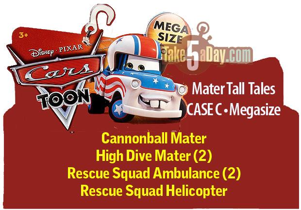 Sortie de High Dive Mater Car-Toons-Megasize-CASE-C