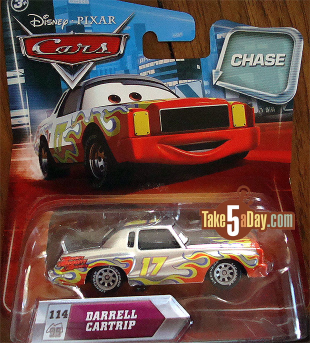 Sortie de Darrell Cartrip chase ransburg Chase