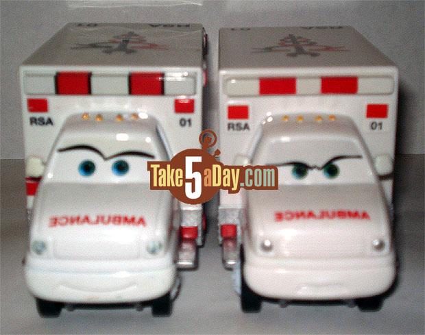 L'ambulance Rescue Squad serait révisée par mattel Ambu-Front