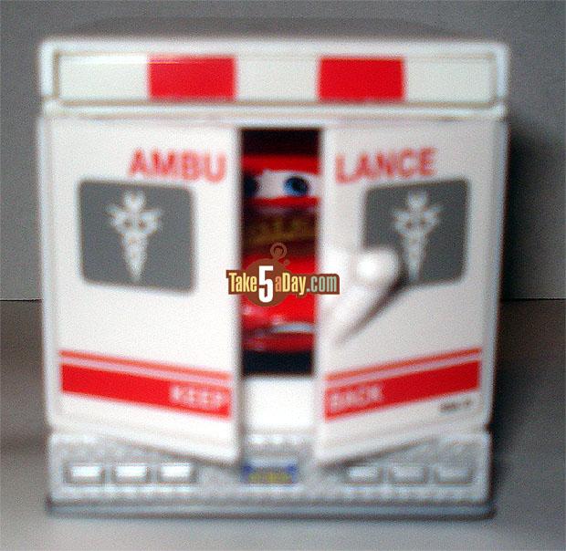 L'ambulance Rescue Squad serait révisée par mattel Ambu-McQ