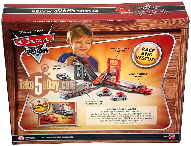 L'ambulance Rescue Squad serait révisée par mattel Rescue-Squad-Mater-Set-Rear