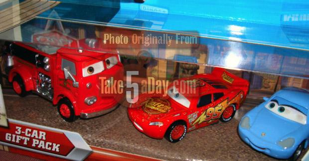 Nouveau pack de 3 véhicules lenticulaires Red-McQ-C