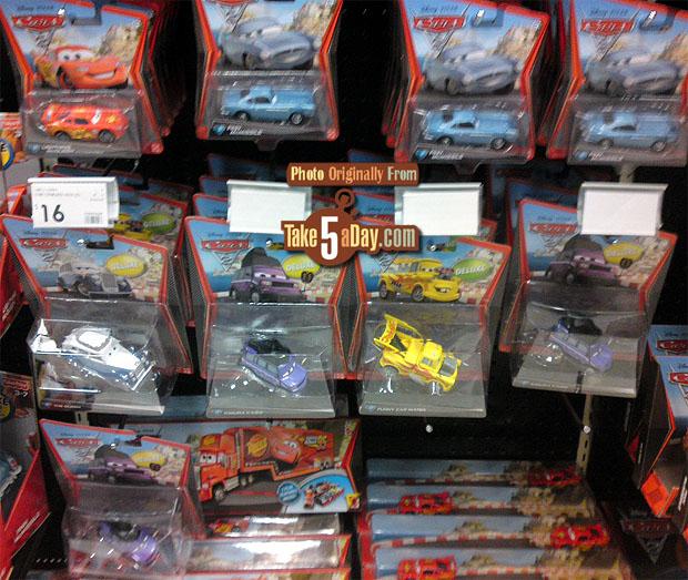 [Cars 2] Funny Car Mater Pegs