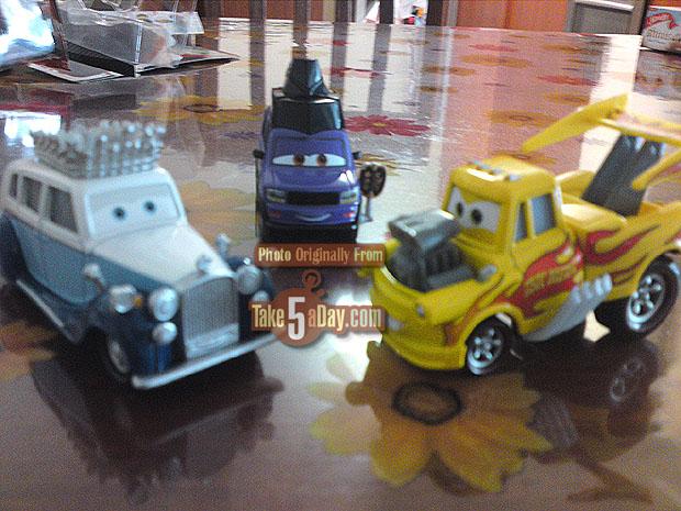 [Cars 2] Funny Car Mater Three