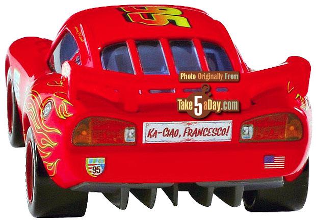 Des nouveaux Movie Moment Cars 2 McQ-Back