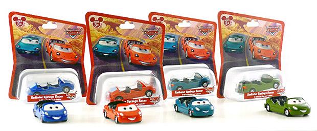 Miniatures exclusives du parc Carsland Rcaers