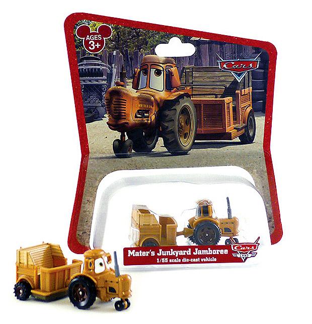 Miniatures exclusives du parc Carsland Tractor