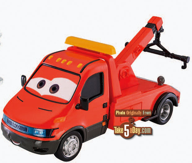 [Cars 2] Towing Eoin Tow-deluxe