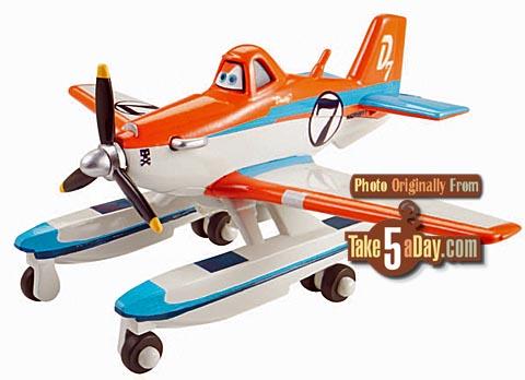 [Planes Fire & Rescue] Aperçu des premiers modèles Dusty-pontoons-race