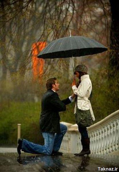 آموزش خواستگاری زیر بارون ( تصویری !) 0.418416001290071412_1289281379_romantic_proposal_in_640_04