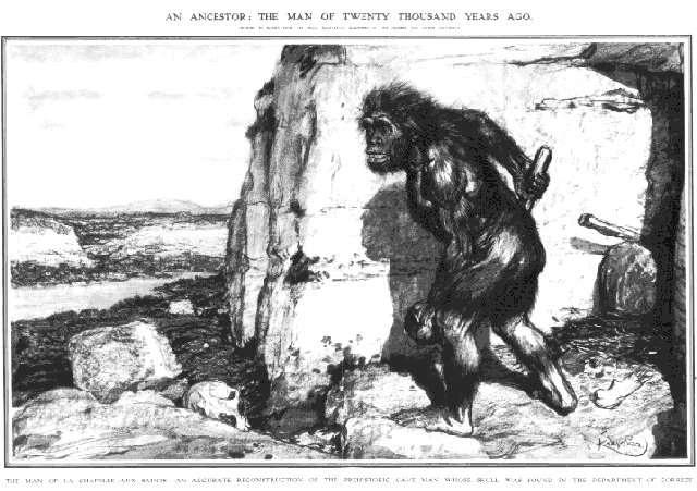 représentations anciennes de néandertal Kupka