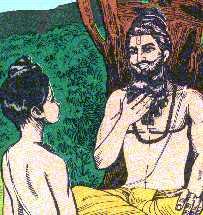 ஆதி சங்கரரின் ஆன்ம போதம் - தத்துவம் - எஸ். ராமன் Rishi_guru_and_sishya