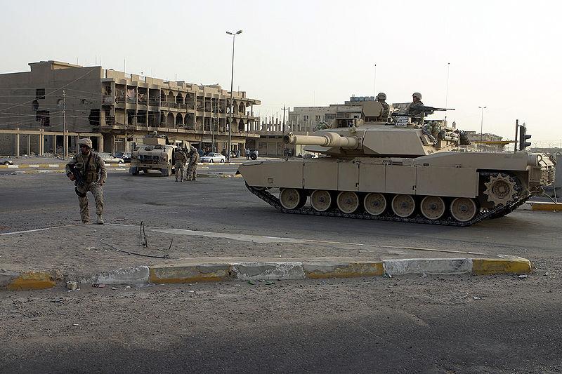 المعركة المتعددة الميادين.....Multi-Domain Battle M1_Abrams_in_Baghdad