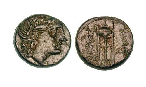 AE 14 seleucida de Seleucos I Nikator Lg_ANC-076o