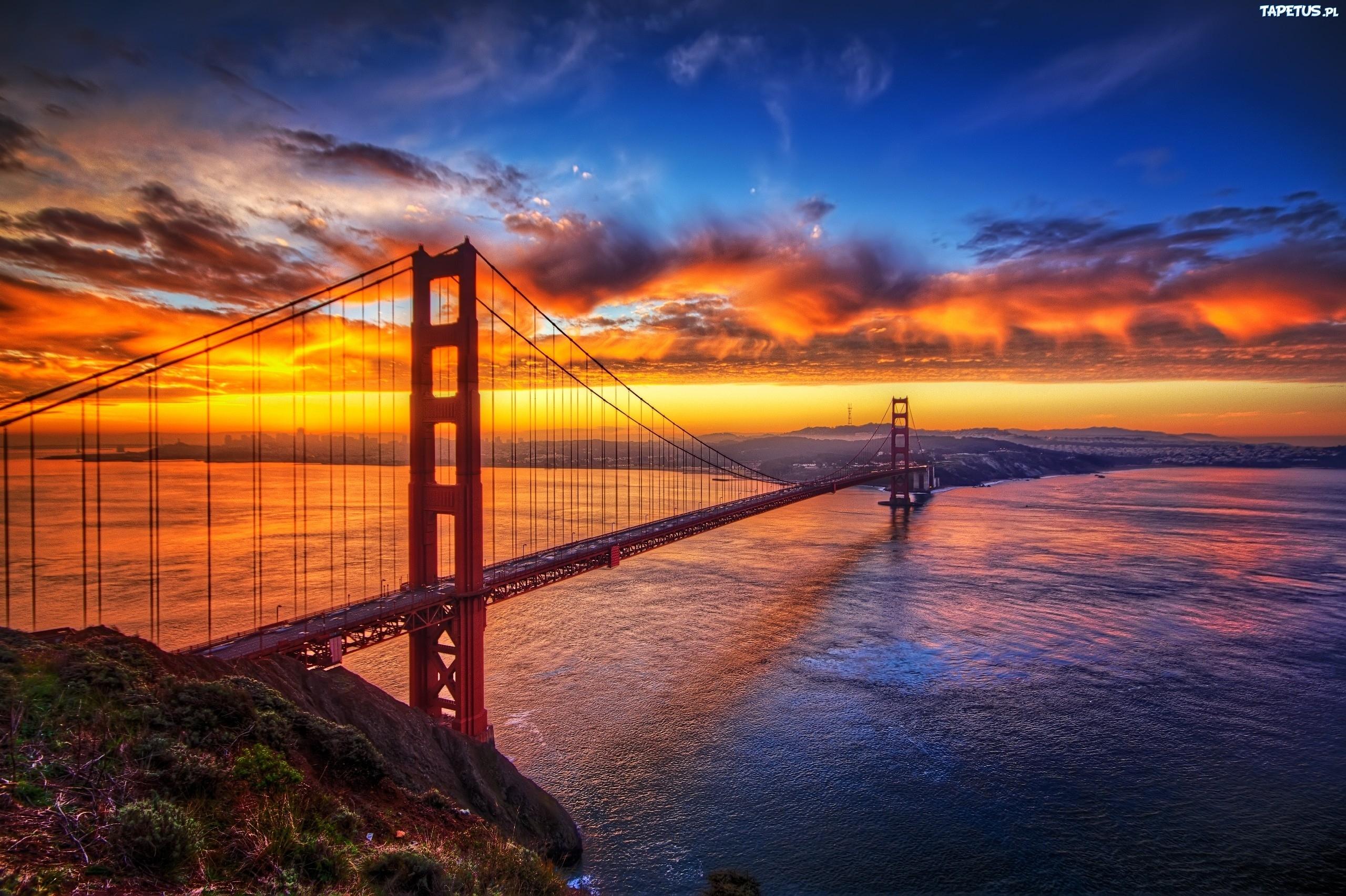 Arhitektura koja spaja ljude - Mostovi 151185_zachod-slonca-most-golden-gate