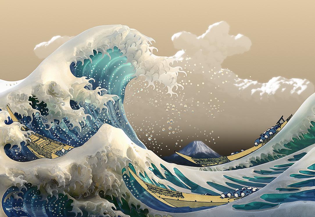 Slike poznatih umjetnika koje su vama lijepe Katsushika-hokusai-kanagawa-1830-32