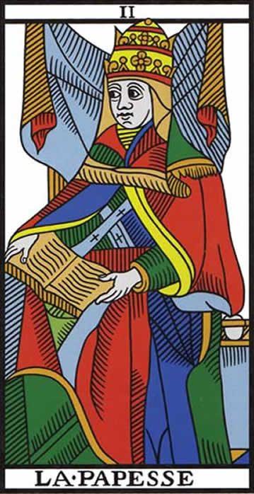 2. LA SACERDOTISA - Descripción general La-Papisa-e1468113035575