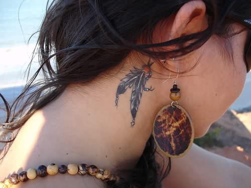.Tatuaje. x - Page 2 Tumblr-feather-tattoo-behind-ear