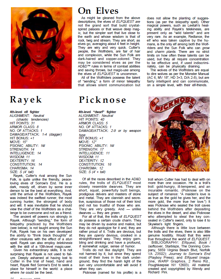 ElfQuest - translated to 2nd Edition D&D. Dragon_66_03