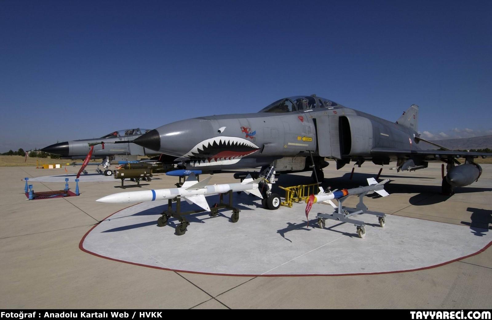 السلاح الجوي التركي vs السلاح الجوي السعودي F-4-54