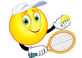 MASTERS ATP - TOURNOI DES MAITRES - LONDRES 2020 - Page 3 Tennis_smiley