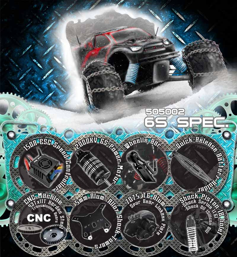 Quelle voiture radiocommandée tout terrain électrique choisir pour débuter? La liste des RTR du marché! E6-6S