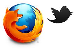 موزيلا تتعاون مع تويتر لتوفير بحث تويتر في شريط ادوات الفايرفوكس Firefox-with-twitter