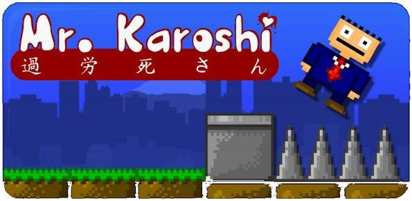 [JEU] MR KAROSHI : Le jeu du célèbre dépressif [Payant] Review-karoshi-android-game-video