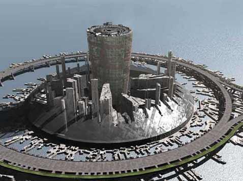 Reportage a Corruscant ! Apres un voyage de 10 000 000 milliards de km Bionic_Tower_1