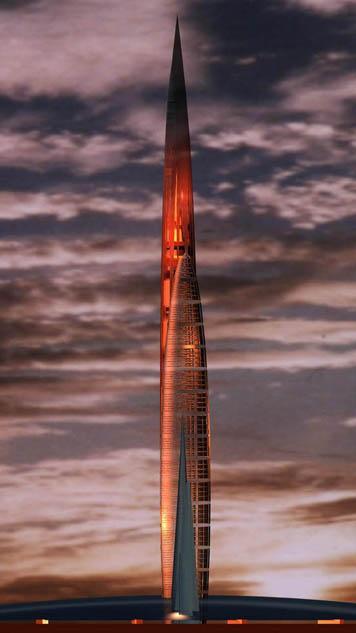 Reportage a Corruscant ! Apres un voyage de 10 000 000 milliards de km Bionic_Tower_4