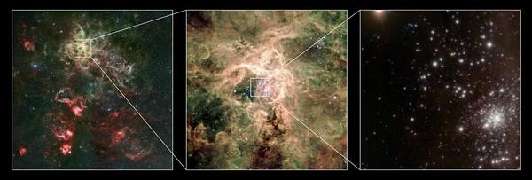 La plus grosse étoile jamais découverte Eso-amas-RMC-136a