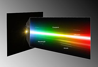 Le premier spectre d'une exoplanète obtenu de manière directe grâce au VLT Spectre-exoplanete