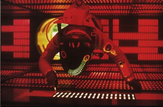 Exposition Stanley Kubrick (Cinémathèque française) 2001-Odysee-Espace