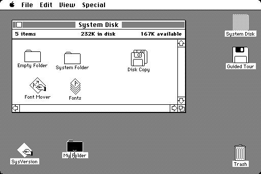 L'ordinateur grand public à interface graphique a 25 ans ! Apple-Macintosh-IHM