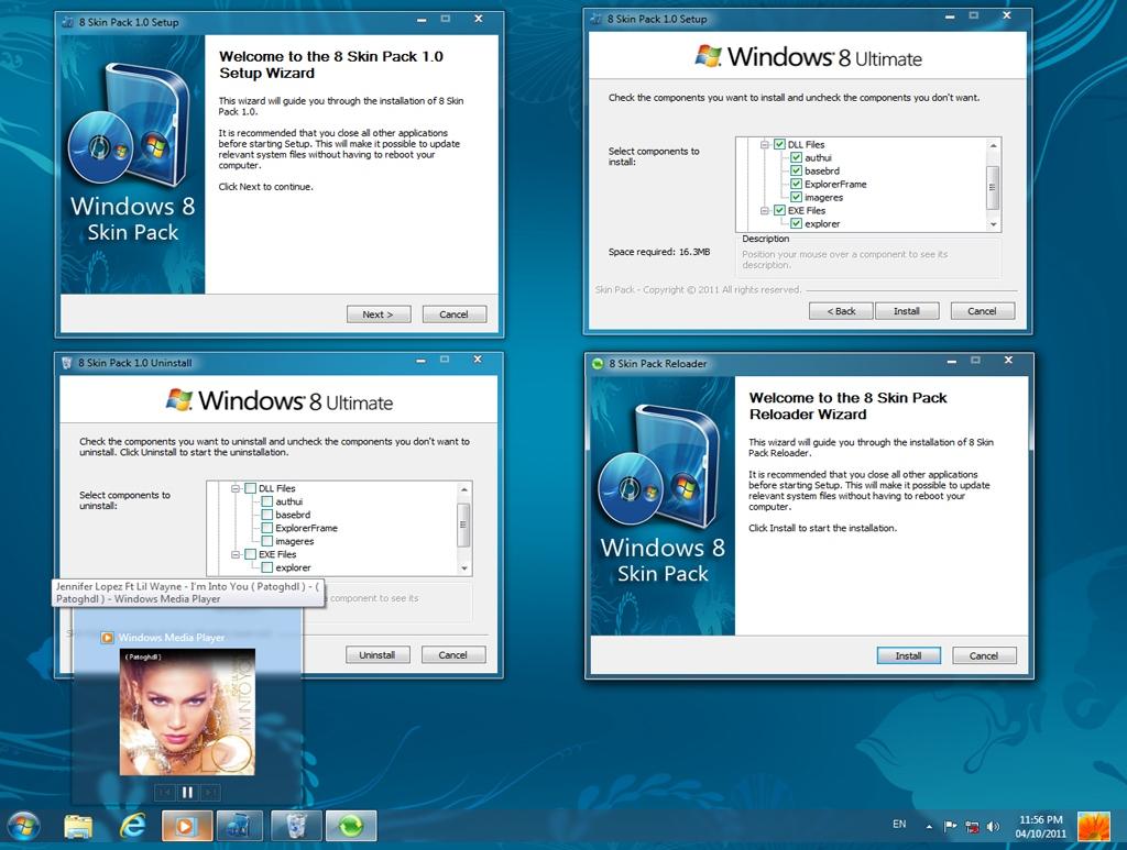 حصـــــريا حول نظامك من ويندوز 7 الى ويندوز 8  Windows 8 Transformation Kit 1.0 بحجم 7.02 ميجا  8_skin_pack_1_0_for_7_by_hameddanger-d3dmsky2