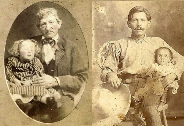 Modë e çuditshme e fotove post-mortem të shekullit XIX-të Aa20