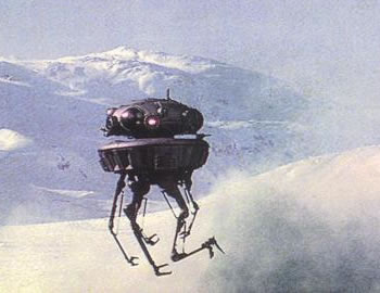 The DARPA Thread Snomote-probe-droid