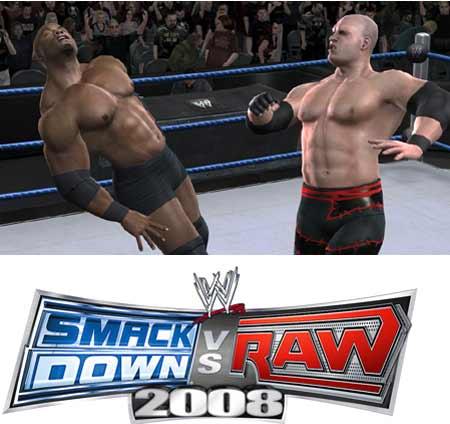 لعبة المصارعة الجامدة جدا WWE-RaW :ToTal Edition 2008, مضغوطة كاملة بمساحة 350 ميجا فقط ومرفوعة على اكتر من سيرفر Smackdown-ss