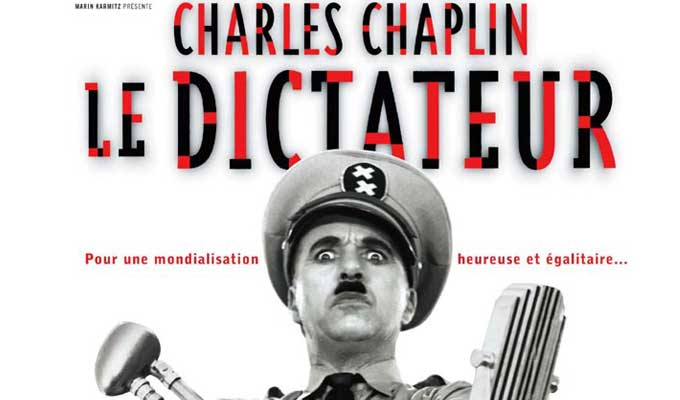 Le festival « cinéma cinéma » sur le thème Charlie Chaplin à Monastir Charlie-chaplin-dictateur