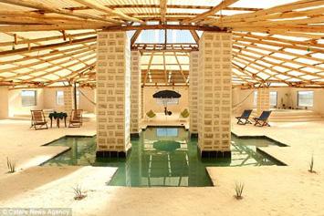 Hoteli nga kripa në Bolivi 2355