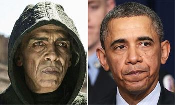 """Ngjashmëria e Obamas me """"djallin"""" (Video) Djalli"""