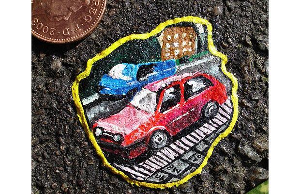 فن في العلكه المدعوسة في الشوارع Cars_1203530i