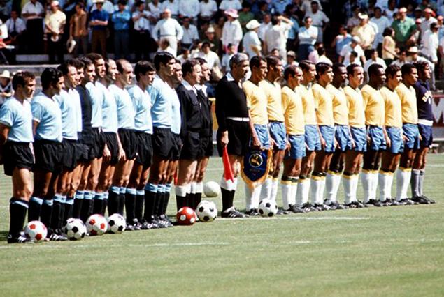 Selección Uruguaya de Fútbol Uruguay-brasil-1970a