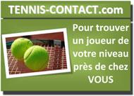 Tennis Contact : Pour trouver un joueur près de chez vous ! Flyer-petit