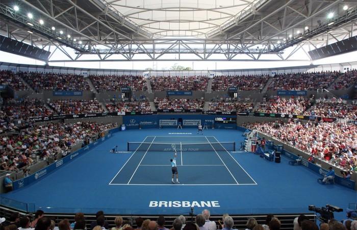 Semaine 2 - SYDNEY Pat_Rafter_Arena_Brisbane_100110-700x450
