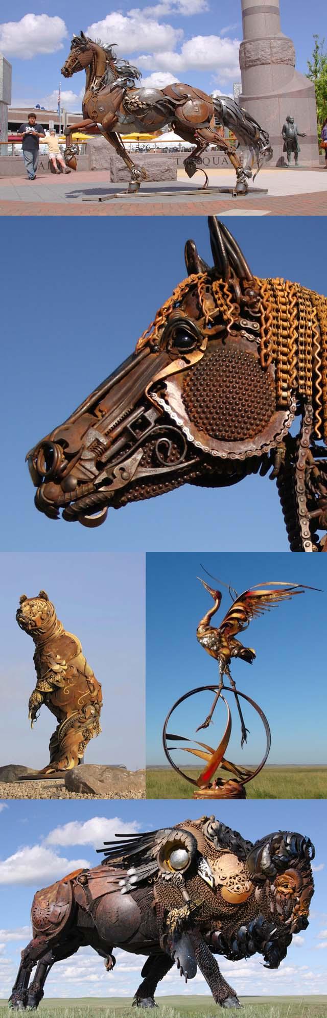 Art contemporain artistique John_lopez_sculptures